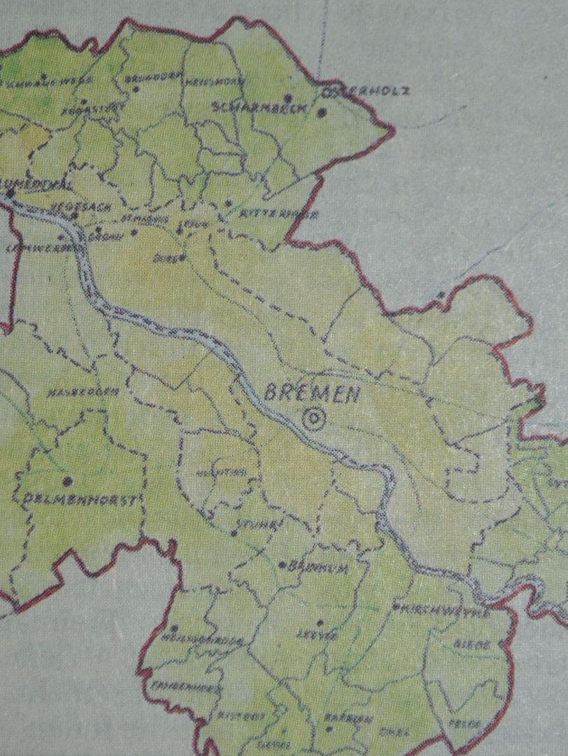 Senator Theodor Spitta legte im Herbst 1946 eine Denkschrift vor, die es in sich hatte: Das Papier sah die Eingliederung etlicher Umlandgemeinden vor, darunter Delmenhorst, Syke, Schwanewede und Osterholz-Scharmbeck. Bildvorlage: Staatsarchiv Bremen