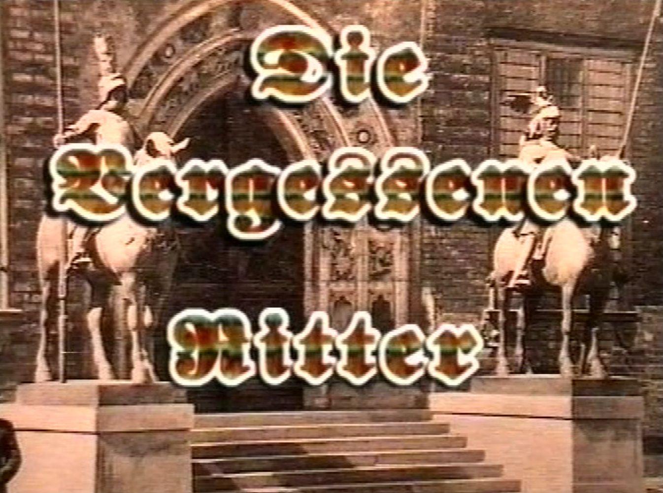 """Mit einem kurzen Animationsfilm lenkte John Rothwell die öffentliche Aufmerksamkeit auf die vernachlässigten Reiterstatuen im Osterholzer Eggestorf-Park. Der Titel: """"Die vergessenen Ritter"""". Quelle: Bremen History"""