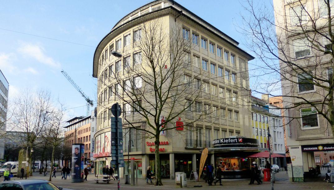 Aktuelles Bild der Bahnhofstraße 32. Foto: Peter Strotmann