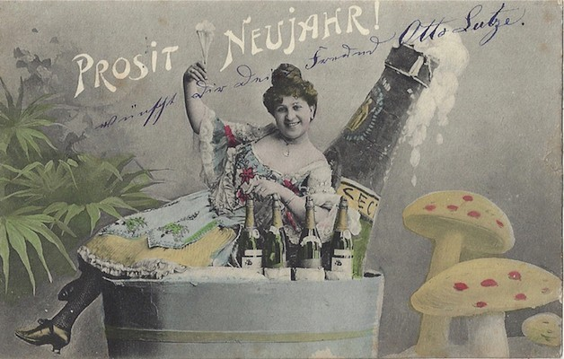 Neujahrskarte 1905