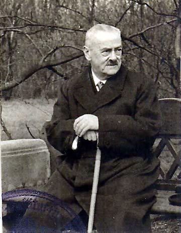 Der Mann hinter der Kamera: Friedrich Sorger (1873 bis 1943), Verwaltungsinspektor im Ruhestand. Bildvorlage: Gerald Sorger