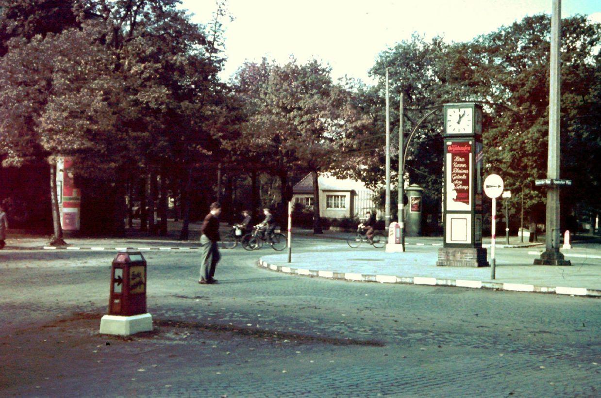 Der Spanische Platz - besser bekannt als der Stern. Die Umbenennung erfolgte 1939 zu Ehren der Legion Condor. Bildvorlage: Gerald Sorger