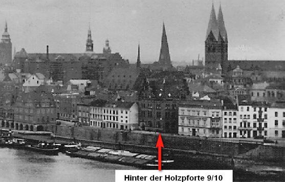 Der Backsteinbau: 1908/09 von der Bremer Schleppschiffahrtsgesellschaft als repräsentatives Verwaltungsbgebäude errichtet. Bildvorlage: Peter Strotmann
