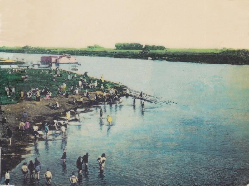 Das Pottenloch am Altenwall um 1913. Quelle: Peter Strotmann