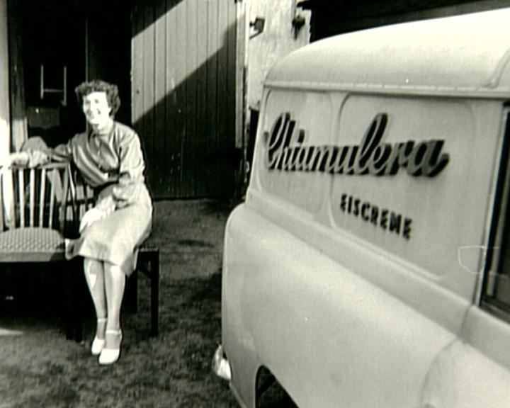 Auf Erfolgskurs: In den 1950er Jahren kurvte ein Borgward Hansa 1500 als Lieferwagen durch Bremen. Quelle: Marco Ferrari