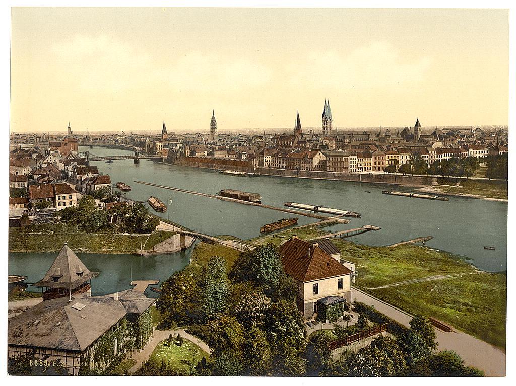 Bremen damals: So sah die Hansestadt um 1900 aus. In seinem ersten Chronikband stellt Hubert Wania Daten von 1876 bis 1905 zusammen, im zweiten von 1906 bis 1920. Bildvorlage: Wikicommons