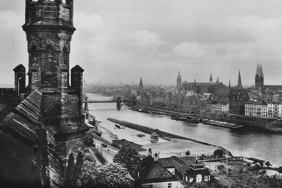 Oberländer Hafen 1936