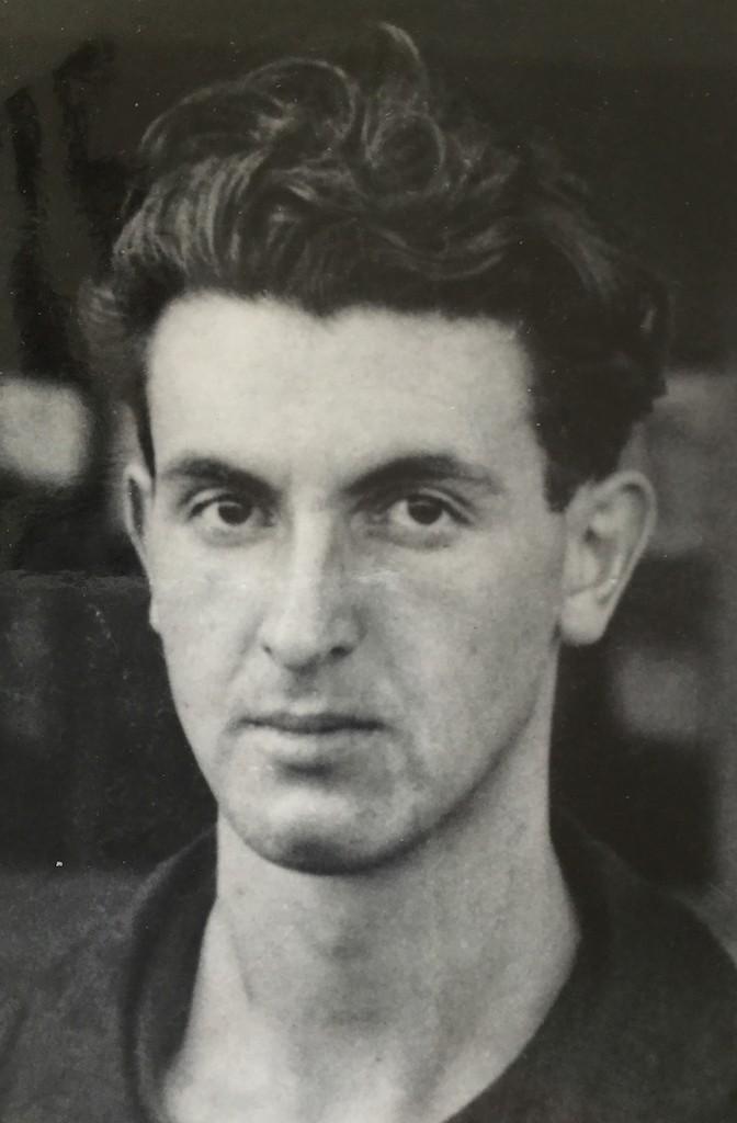 Erlebte Bremen auch als lebenhungriger junger Mann: Yves Bertho als damals 20-jähriger Zwangsarbeiter. Bildvorlage: Kellner-Verlag