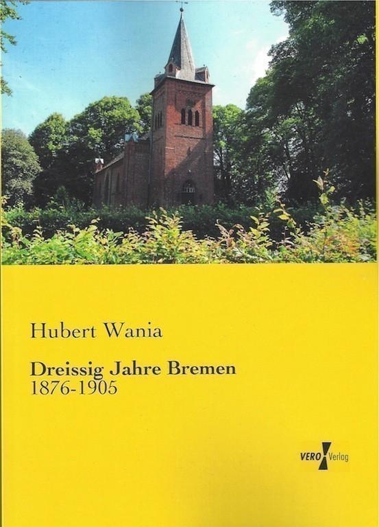 Die Neuauflage des ersten Wania-Bandes: die Moorlosen-Kirche in Mittelsbüren lässt grüßen. Quelle: Vero Verlag