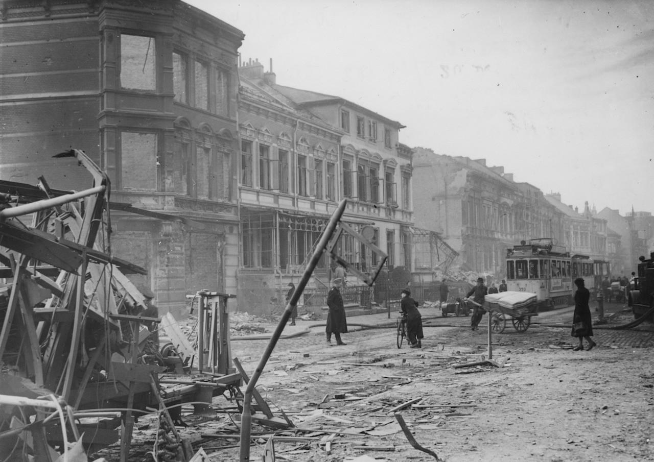 Für Yves Bertho ein normaler Anblick: das zerstörte Bremen. Bildvorlage: Kellner-Verlag