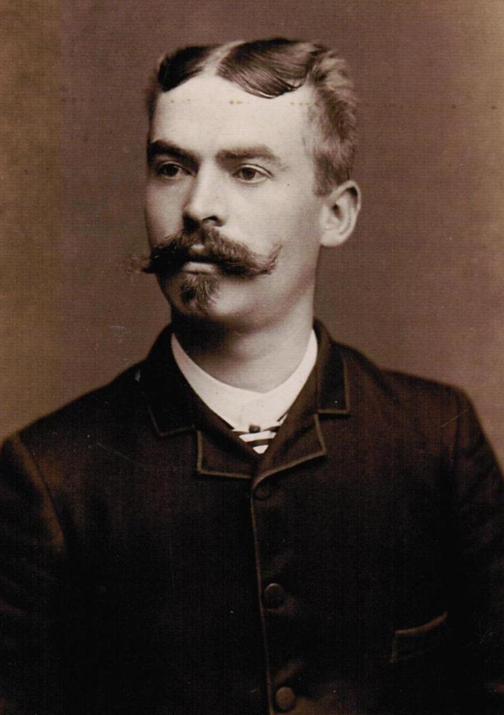 """Nach Ansicht seines Bruders Fritz ein """"gemachter Mann"""": der ausgewanderte Louis Schütz, hier auf einer Aufnahme aus Newark. Quelle: Privat"""