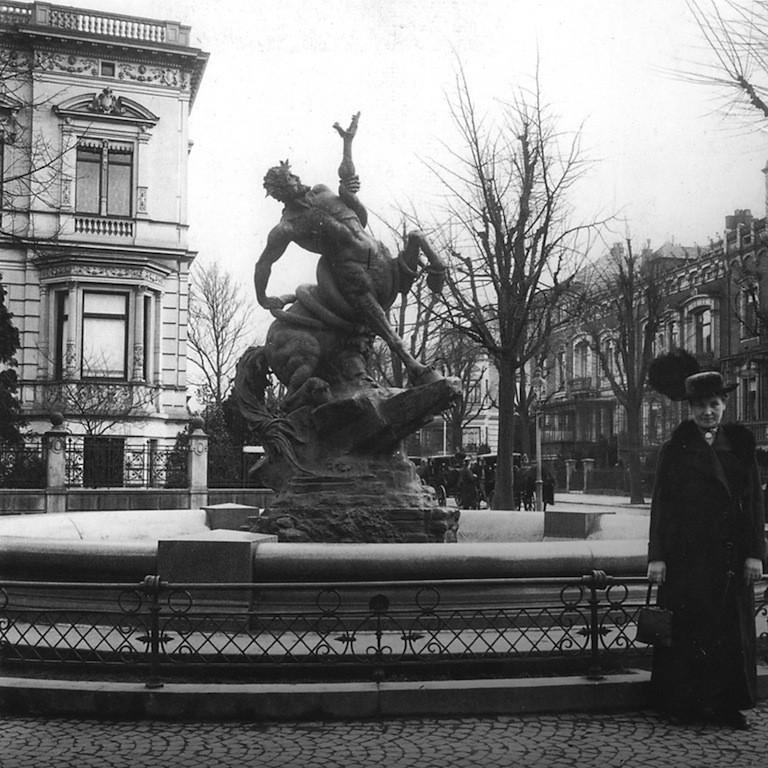 Centaurenbrunnen 1900
