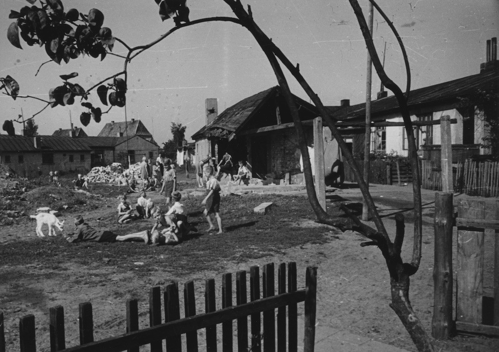 Flüchtlingslager Vahrer Straße 1959, Signatur: Staatsarchiv Bremen (StAB) Fotograf: Karl Edmund Schmidt