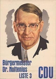 In den frühen Nachkriegsjahren der starke Mann in der Bremer CDU: Jules Eberhard Noltenius. Quelle: KAS