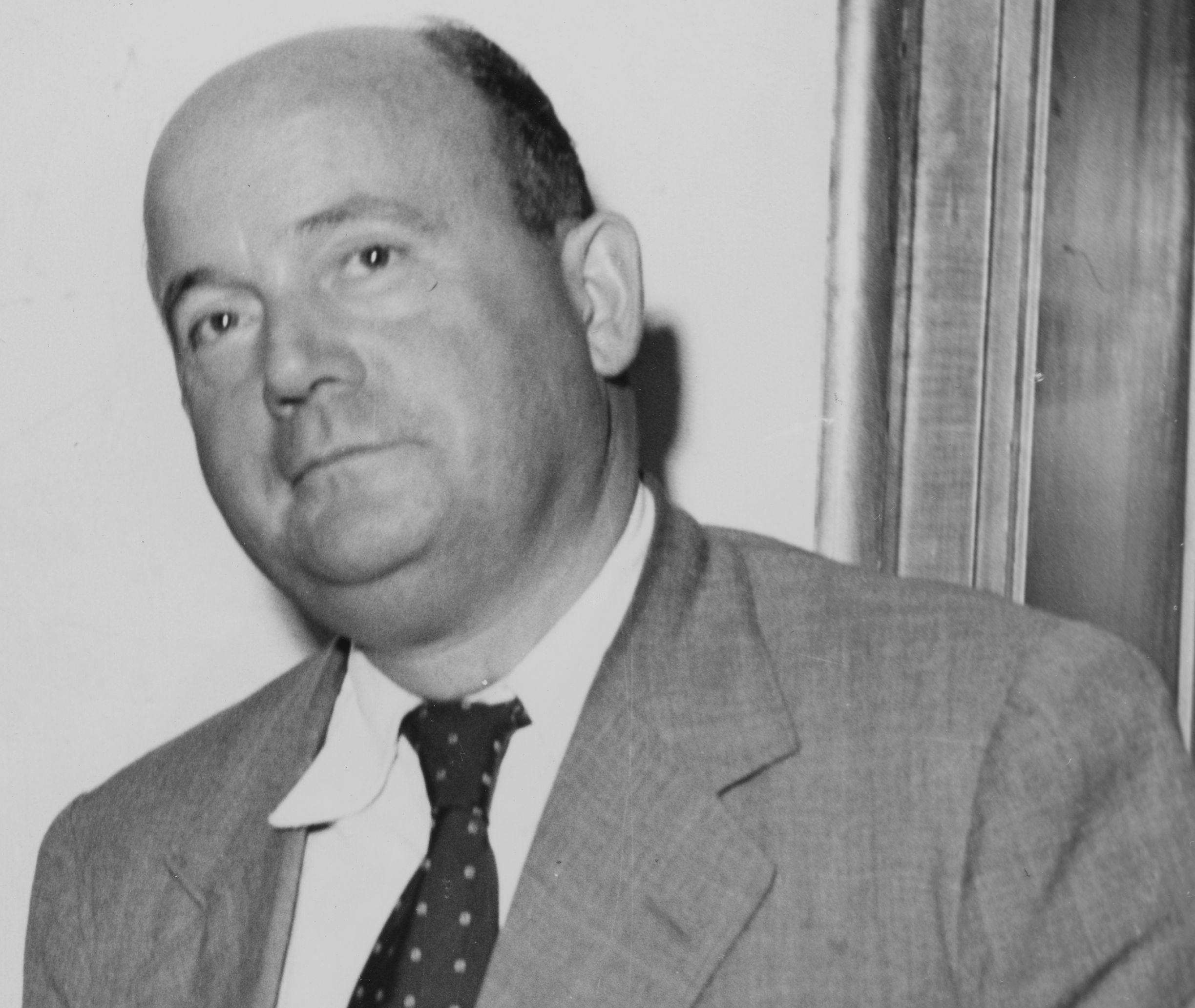 Der Chefredakteur der Bremer Nachrichten, Dr. Adolf Wolfard, fiel am 29. November 1951 einem Bombenattentat zum Opfer. Quelle: Staatsarchiv Bremen