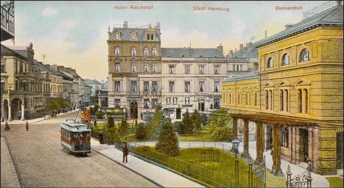 Breitenweg um 1900
