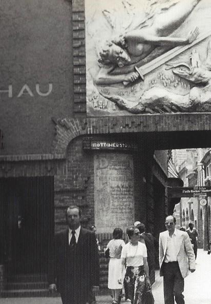 Eine der ersten Anlaufadressen beim Bremen-Besuch im Sommer 1976: die Böttcherstraße. Foto: Frank Hethey
