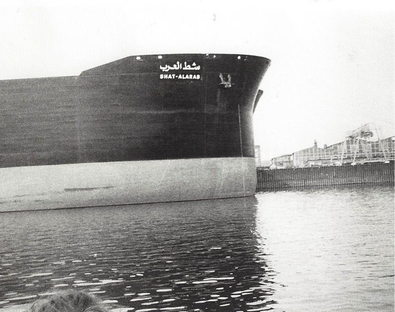 Beeindruckend: am Bug der beiden Supertanker. Foto: Frank Hethey