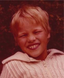 Der Junge hinter der Kamera: Frank Hethey als Zehnjähriger. Bildvorlage: Privat