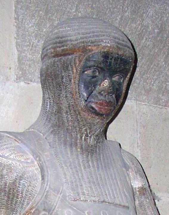 Dunkelhäutig: der Heilige Mauritius im Magdeburger Dom. Quelle: Wikicommons