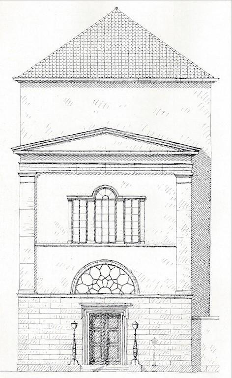 Auch repräsentativ: der Union-Eingangsbereich an der Ostertorstraße. Quelle: Rudolf Stein, Klassizismus und Romantik in der Baukunst Bremens, Bremen 1964