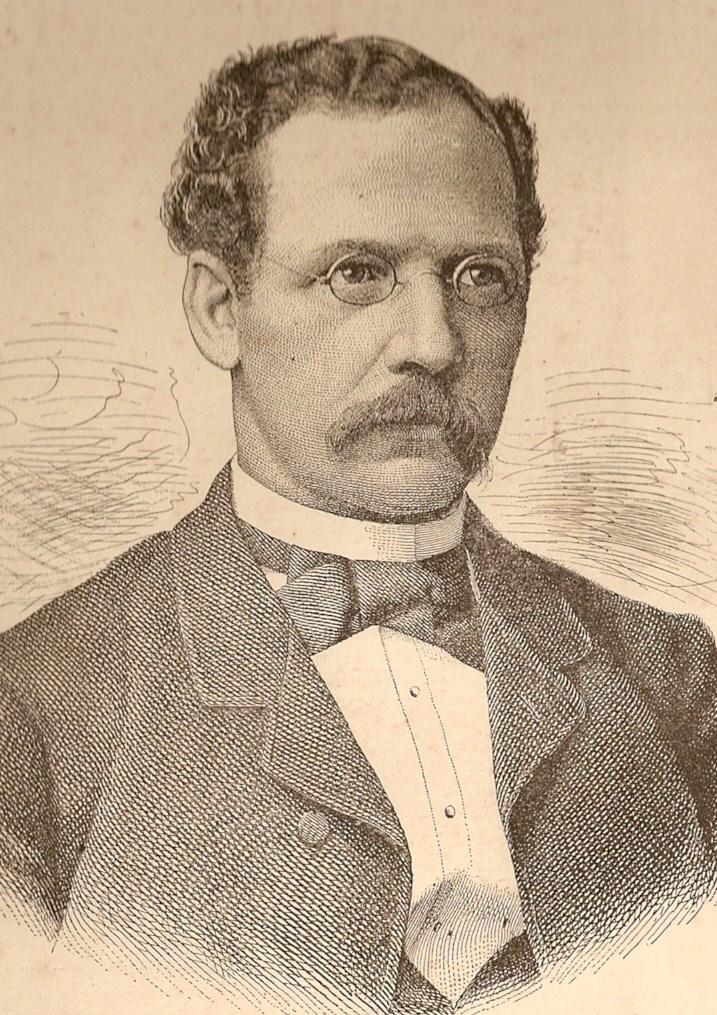 Nüchtern und geschäftsmäßig: der Bremer Kaufmann Adolf Lüderitz. Quelle: Wikicommons