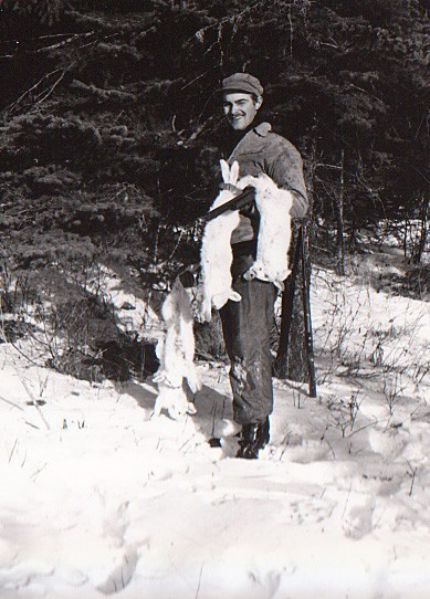 Sogar als Jäger war Günter Garbrecht im Einsatz: einer von insgesamt 19 Jobs. Bildvorlage: Günter Garbrecht