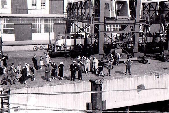 Ein letzter Blick zurück: Von Bremerhaven aus stach Garbrecht in See. Bildvorlage: Günter Garbrecht