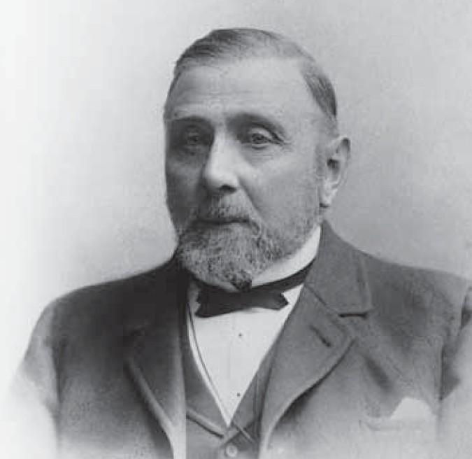 Der Mann mit einer Nase fürs große Geschäft: der Fuhrunternehmer Heinrich Alfes. Quelle: HanseWasser