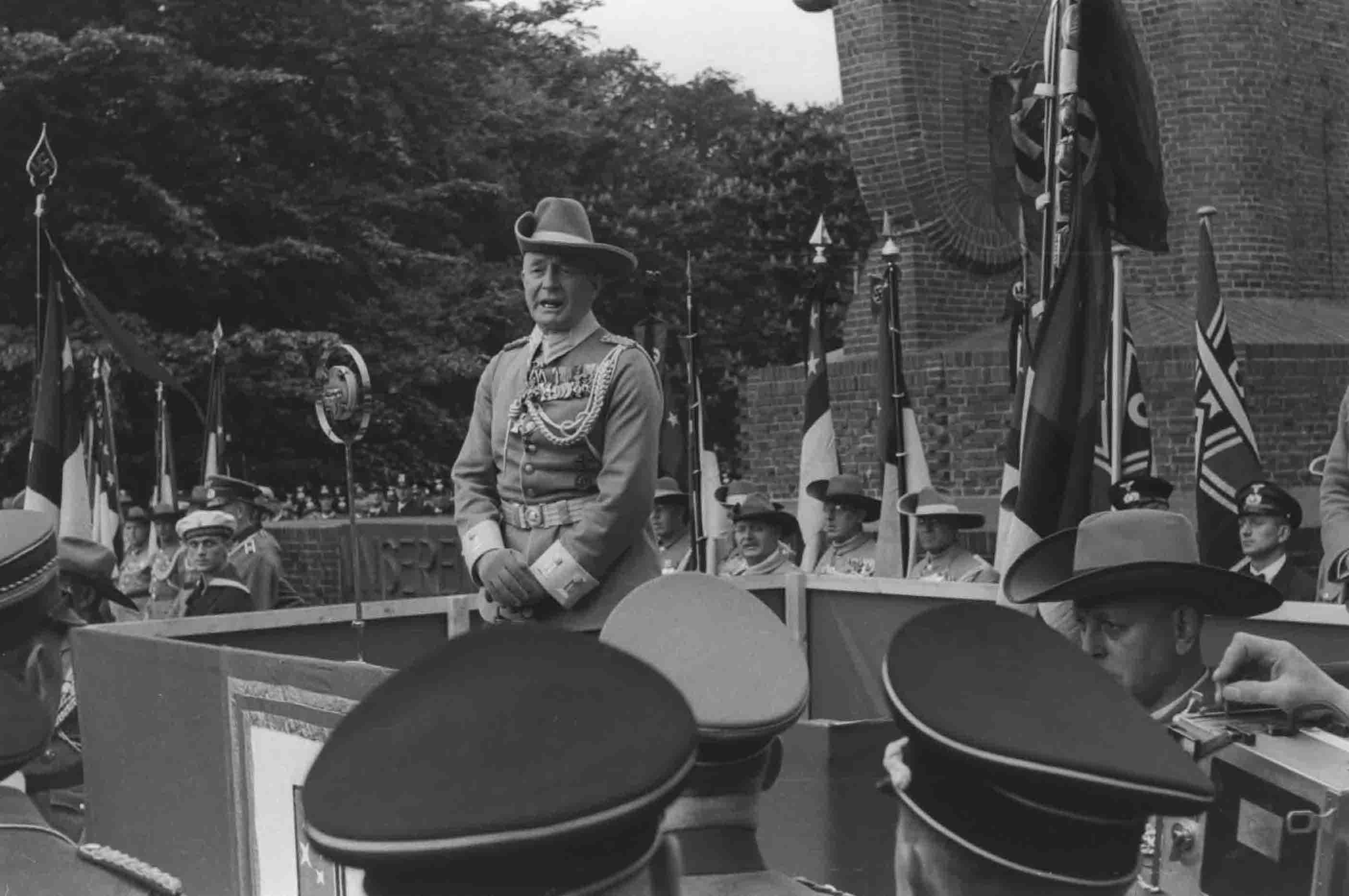 Immer vorne dabei, wenn es um die Kolonien ging: der in Bremen ansässige General Paul von Lettow-Vorbeck. Quelle: Bildbestand der Deutschen Kolonialgesellschaft in der Universitätsbibliothek Frankfurt am Main