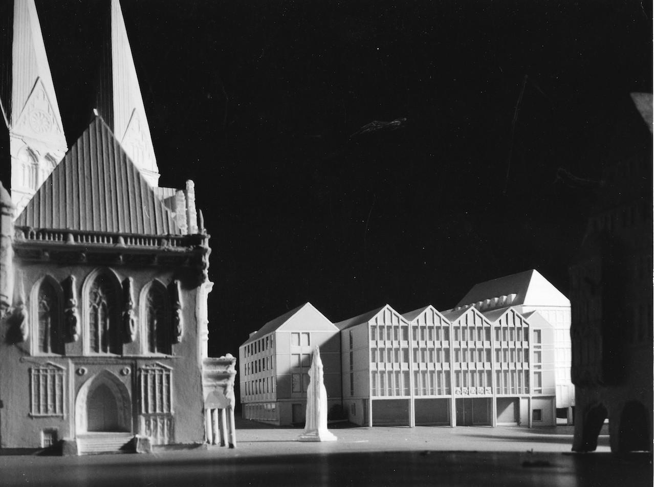 Der letzte Versuch: der finale Entwurf von Müller-Menckens. Quelle: Bremer Zentrum für Baukultur