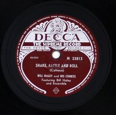 Was auf den Teller kommt, wird auch gehört: Bill Haleys Scheiben waren heiß begehrt. Quelle: Wikicommons