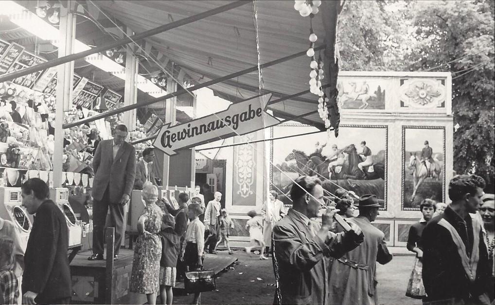 Immer dabei: Haberjans Hippodrom um 1965. Quelle: Familie Porsch