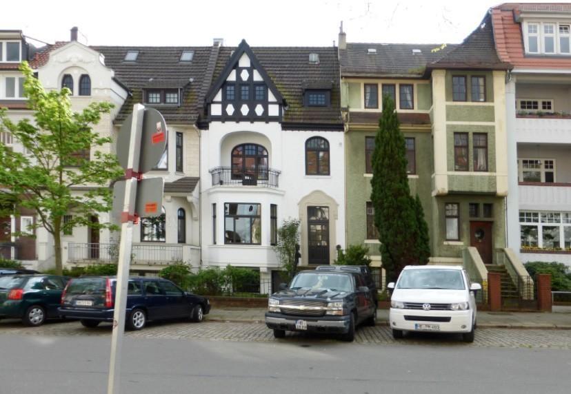 Der Schauplatz der Aufnahmen: die Hohenlohestraße in Schwachhausen.