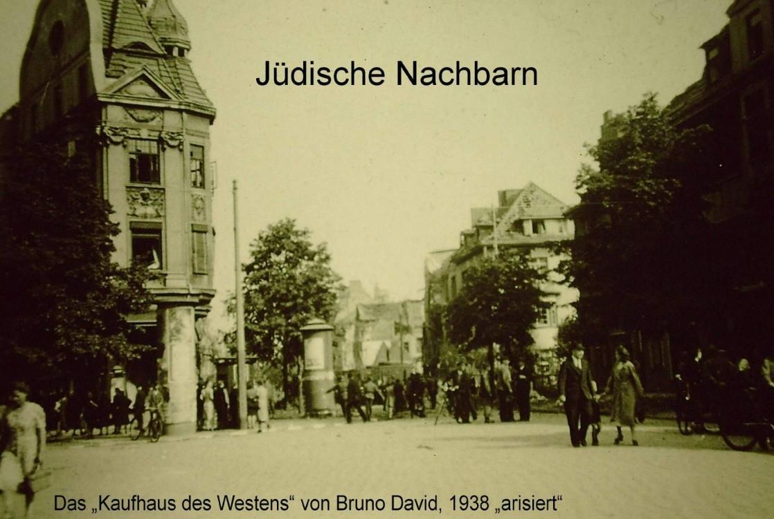 Bedroht und ermordet: jüdische Nachbarn in der NS-Zeit. Bildvorlage: Kulturhaus Walle