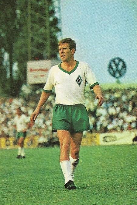 Begehrtes Sammelobjekt: Zebrowski als Bildmotiv für ein Sammelalbum zum Start der Saison 1967/68. Quelle: Bestand Zebrowski