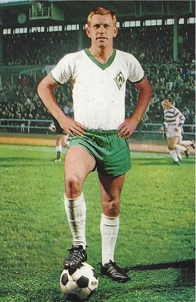 ... und noch einmal in anderer Pose für ein Sammelalbum zum Start der Saison 1968/69. Quelle: Bestand Zebrowski