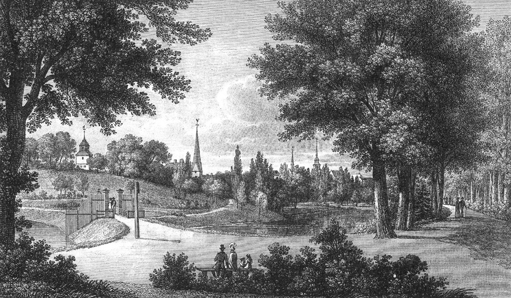 Comeback nach 300 Jahren: das Bischofstor im Jahre 1820. Quelle: Wikicommons