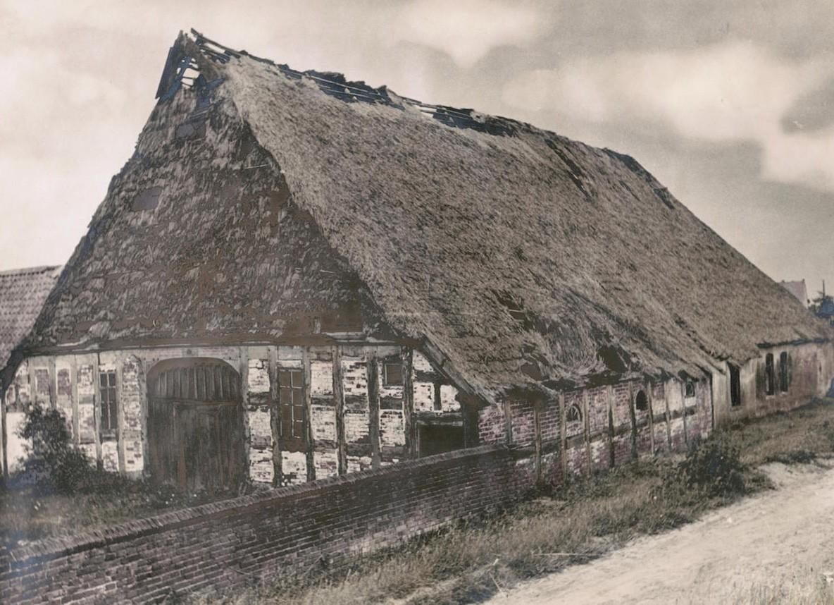 Stammsitz der Familie Eitmann: die alte Hofstelle in Arbergen. Bildvorlage: Bestand Buhr