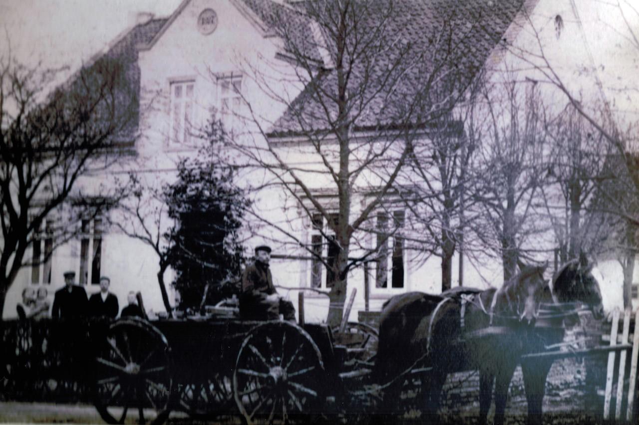 Wachsender Wohlstand: Wohnhaus von 1877, heute Olbersstraße 16 in Bremen-Arbergen. Bildvorlage: Bestand Buhr