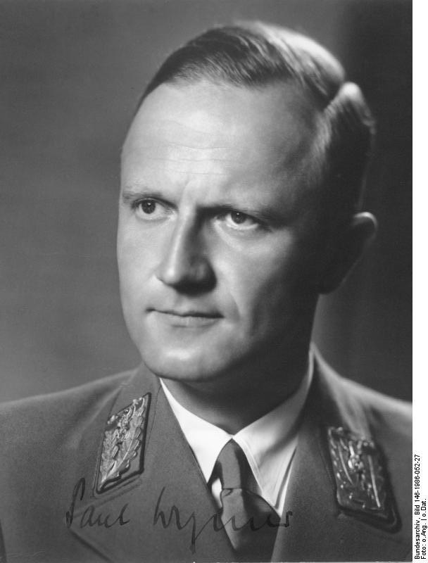 Der Mann, der Schümann protegierte: NS-Gauleiter Paul Wegener. Quelle: Bundesarchiv Koblenz