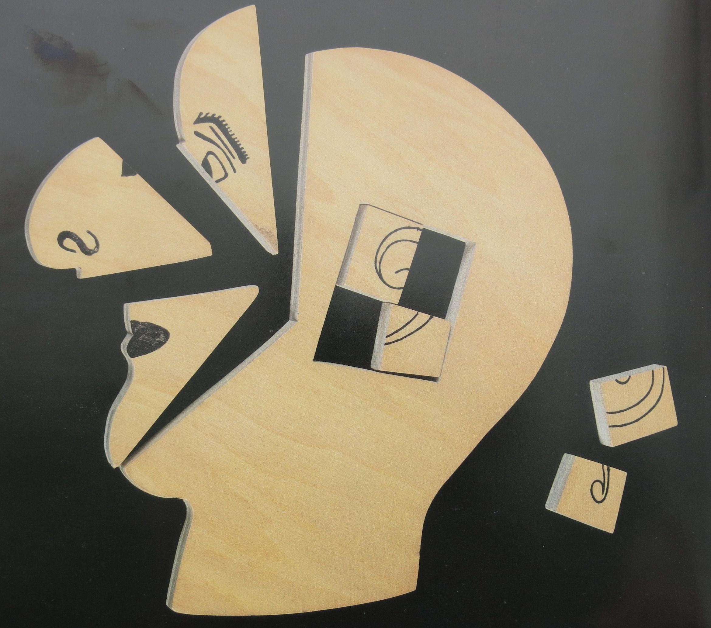 IQ-Test für Einwanderer: auf Ellis Island ausgegebenes Kopfpuzzle. Bildvorlage: Diethelm Knauf
