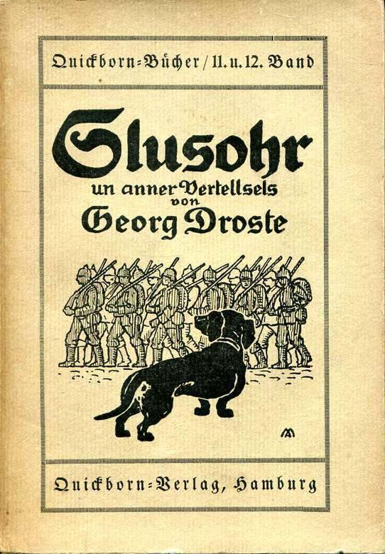 Lebensunterhalt als Schriftsteller: Mit seinen plattdeutschen Büchern fand Georg Droste eine breite Leserschaft. Quelle: Privat